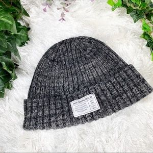 BOGO! H&M Gray Label Wool Blend Ribbed Knit Beanie
